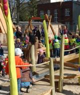Eröffnung des Kleinkinderspielplatzes