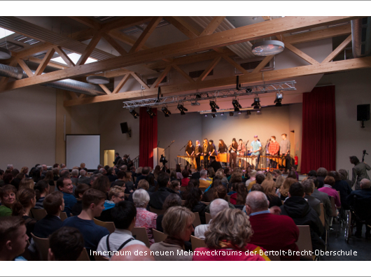 Mehrzweckraum Bertolt-Brecht-Oberschule Berlin