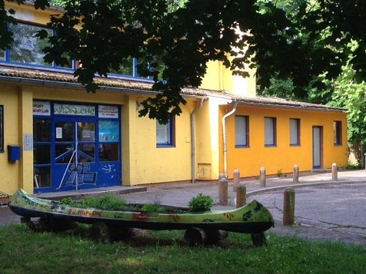 Neubau des SportJugendClubs Wildwuchs' Berlin