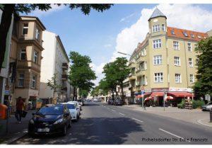 Pichelsdorfer Strasse Umgestaltung Geschäftsstraßen