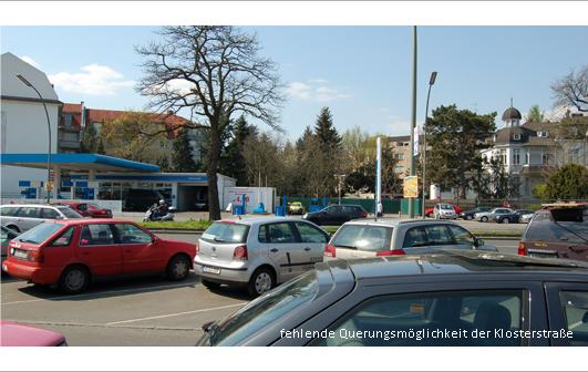 Querung Klosterstraße Bullengrabengrünzug