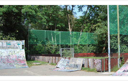Städtebauförderung Skatepark Wilhelmstadt