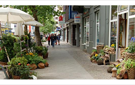 Förderprogramms Aktive Zentrenadamstrasse Wilhelmstadt